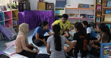 หลักสูตรสาขาวิชาการศึกษาปฐมวัย นำนักศึกษา เตรียมการรับเสด็จ สมเด็จพระเทพรัตนราชสุดาฯ สยามบรมราชกุมารี